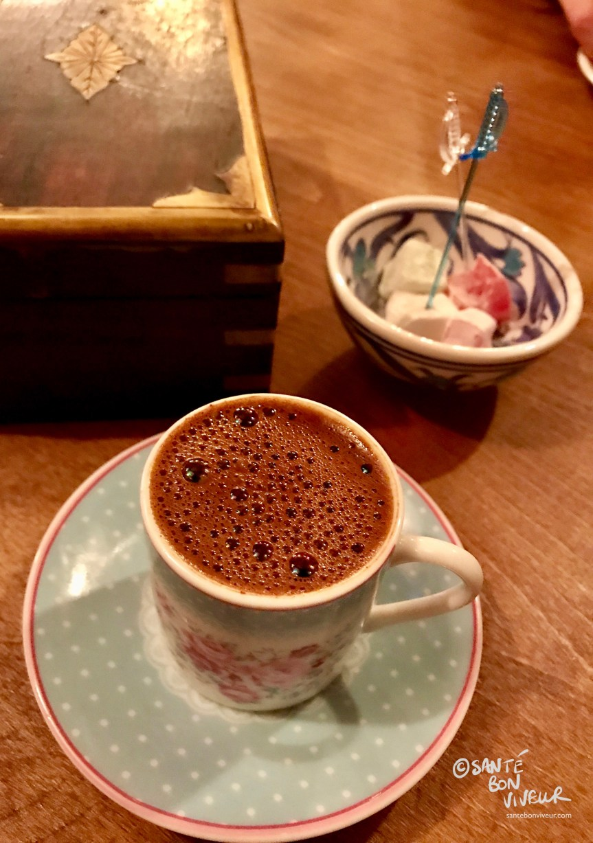 Turkish Coffee & Turkish Delight - Ephesus Restaurant, Brighton