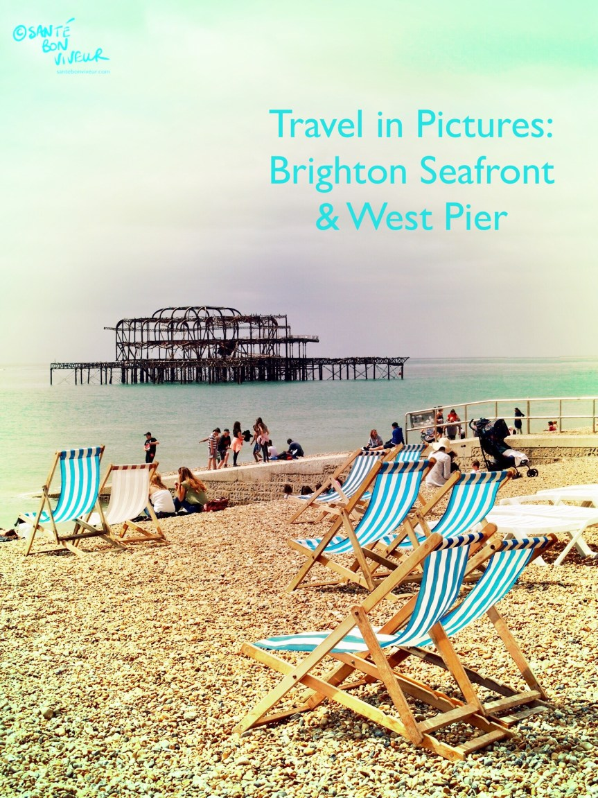 Travel In Pictures Summer Season: Brighton Seafront and West Pier