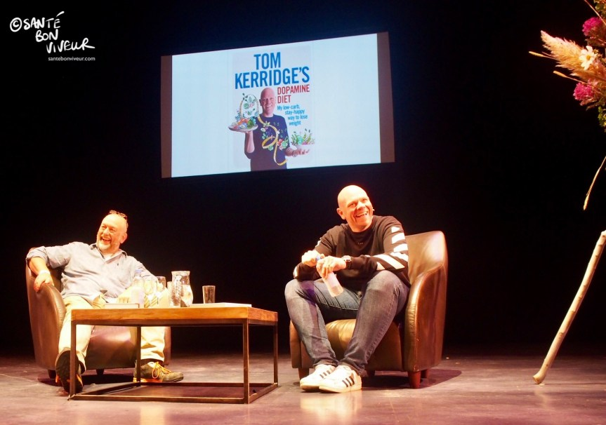 Tim Hayward & Tom Kerridge, Abergavenny Food Festival, Wales, UK, 2017