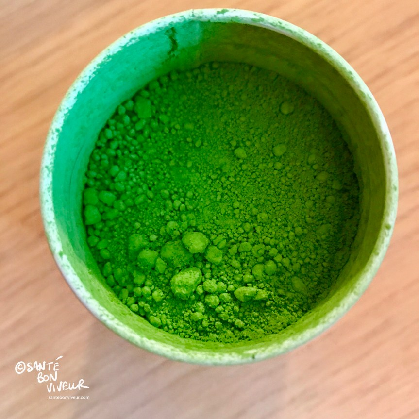 Tin of Matcha Green Tea Powder from Ippodo, Kyoto, Japan, 2017