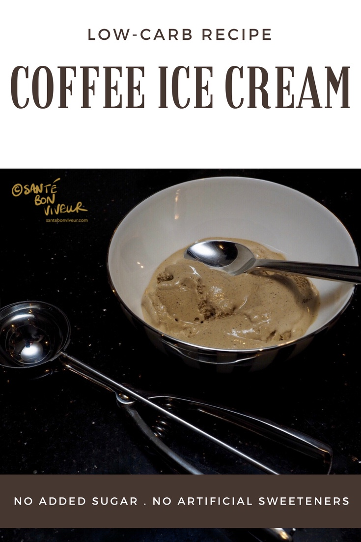 low-carb coffee ice cream
