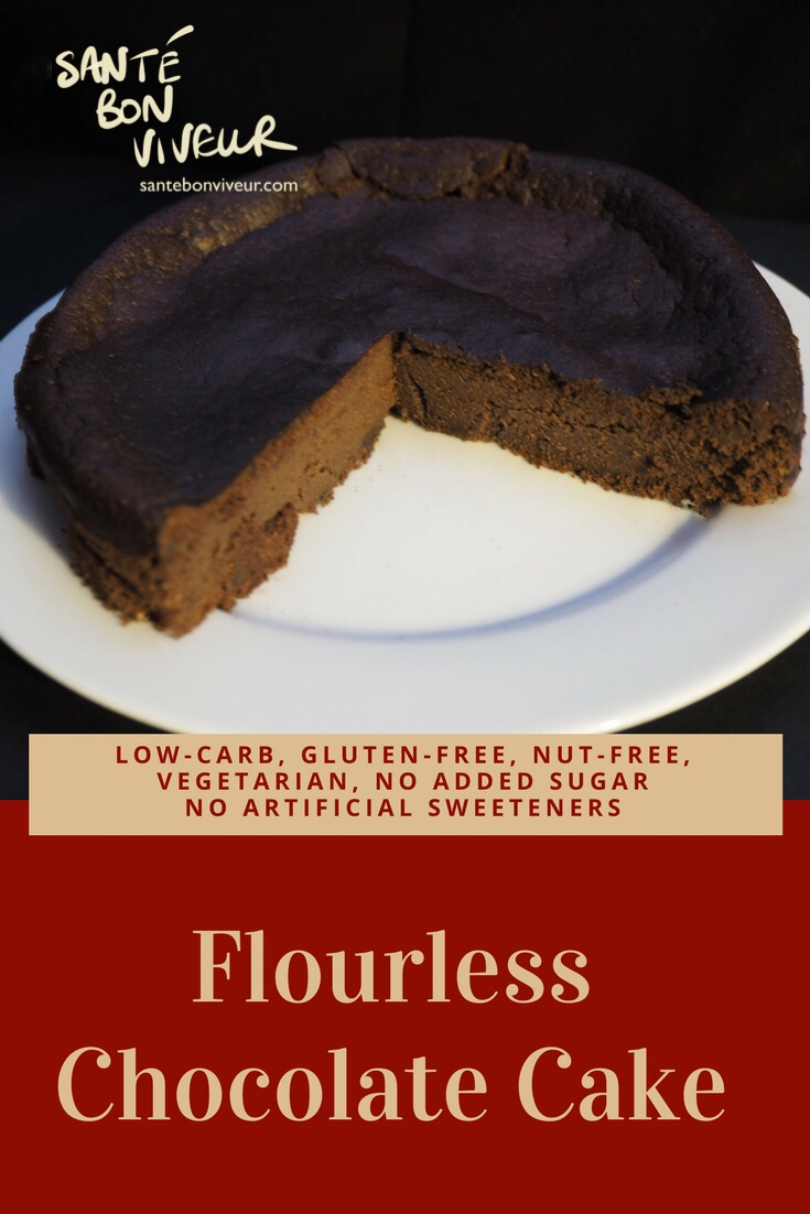 Recipe for Low-Carb Flourless Chocolate Cake