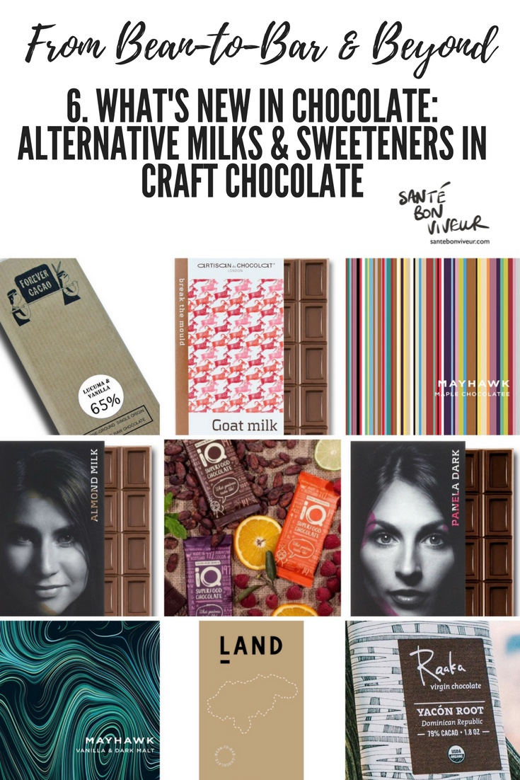 From Bean-To-Bar & Beyond: 6. What's New in Chocolate: Craft Chocolate Bars Containing Alternative Milks And Sweeteners