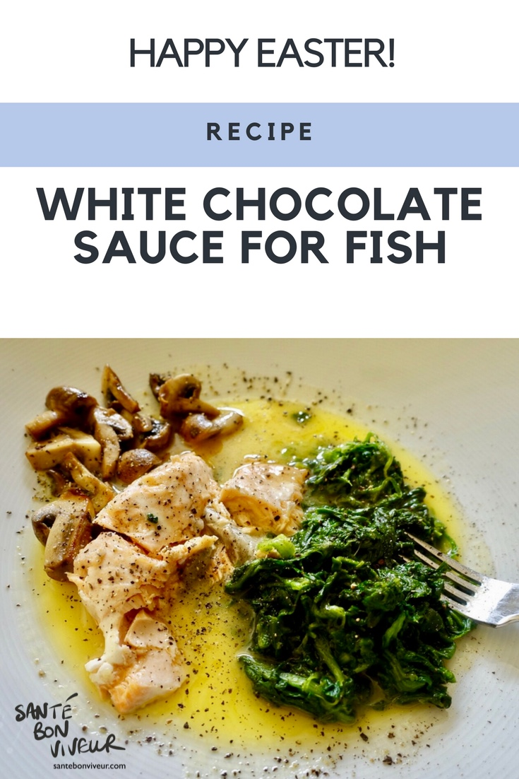White chocolate sauce for fish recipe