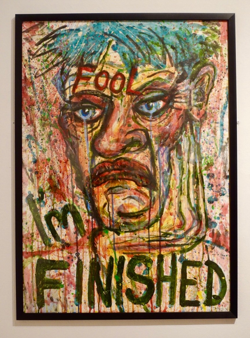 David Hoyle, 'Fool I'm Finished' 2012. Creative Rage Exhibition Stoke-on-Trent