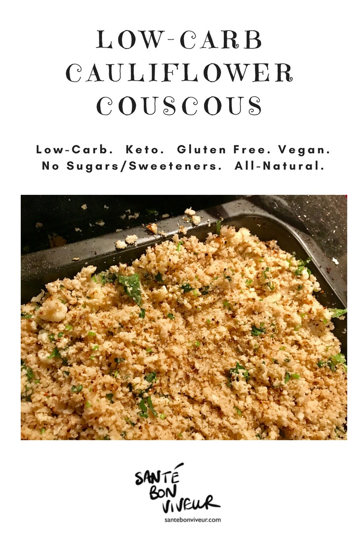 Low-Carb Roasted Cauliflower Couscous
