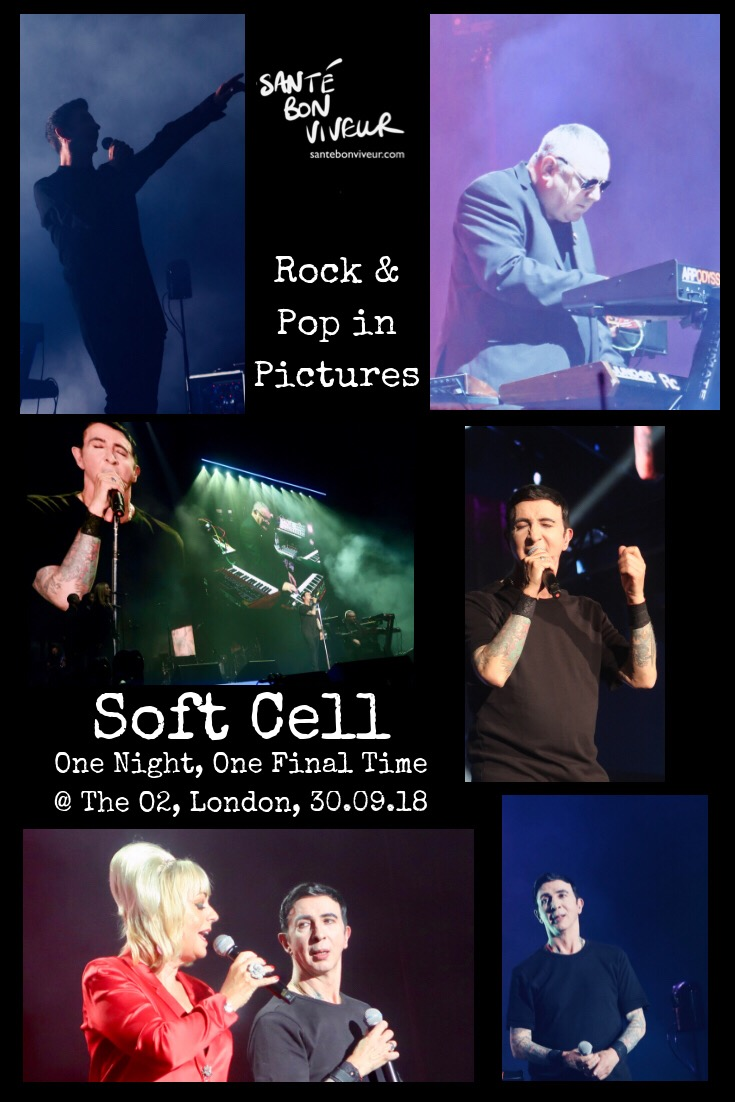Rock & Pop in Pictures: Soft Cell: One Night, One Final Time, The O2, London, 30 September 2018