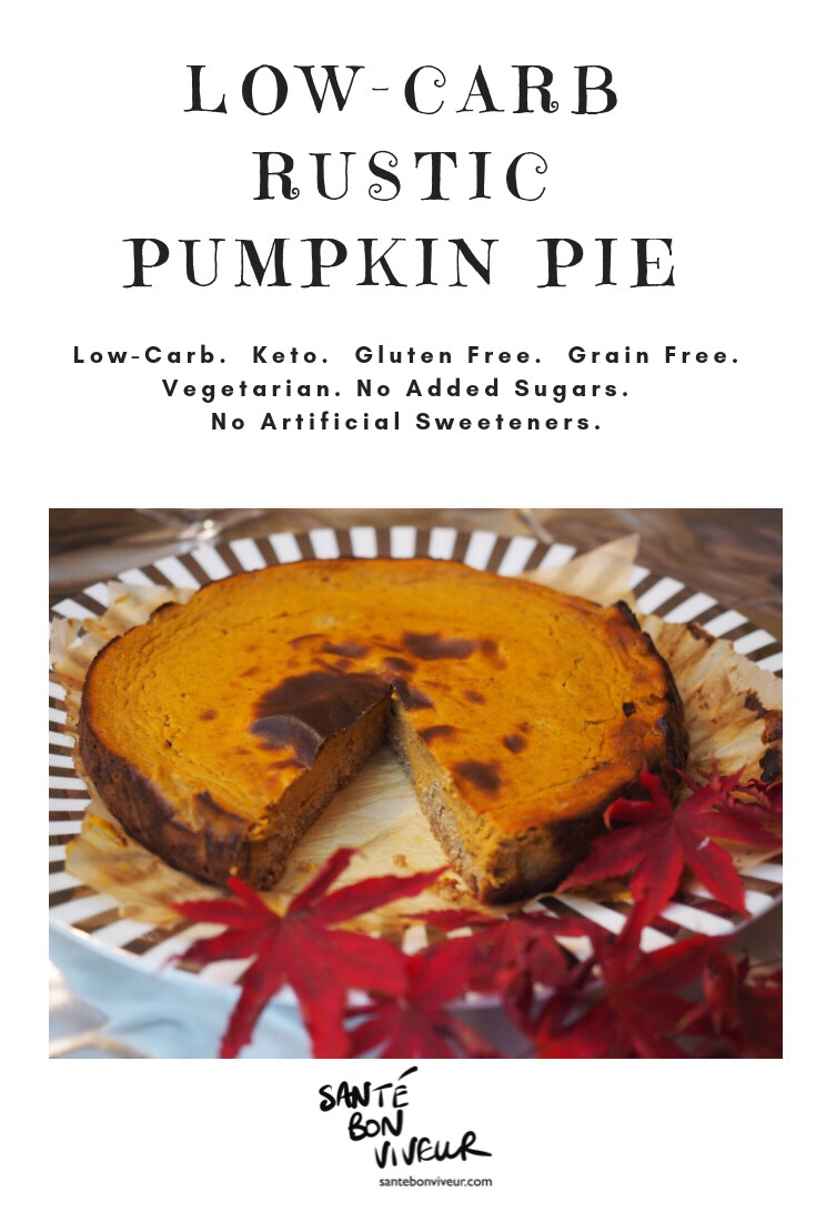 Low-Carb Rustic Pumpkin Pie