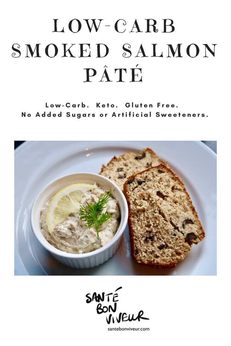 4-Ingredients Low-Carb Smoked Salmon Pâté