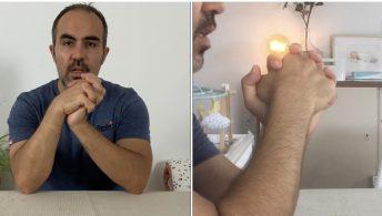 Algodystrophie - Mobilisation du poignet