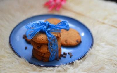 Cookies Vegan sans gluten aux pépites de chocolat