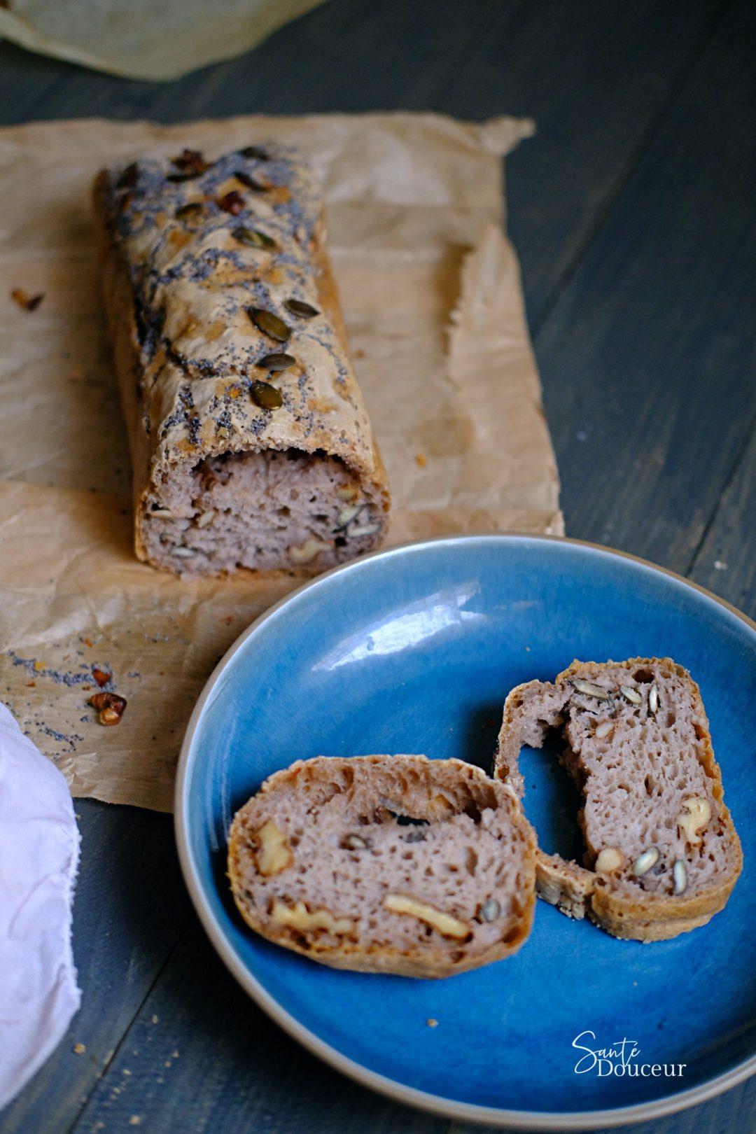 pains aux noix sans gluten naturopathie santé douceur