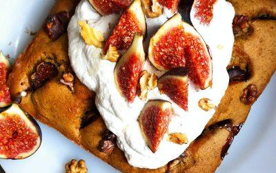 Cake Figue noix sans gluten