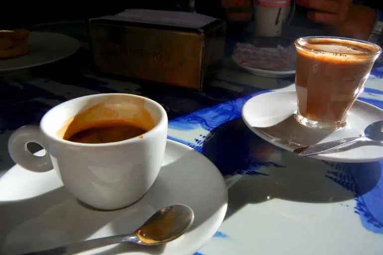 Coffee in San Telmo