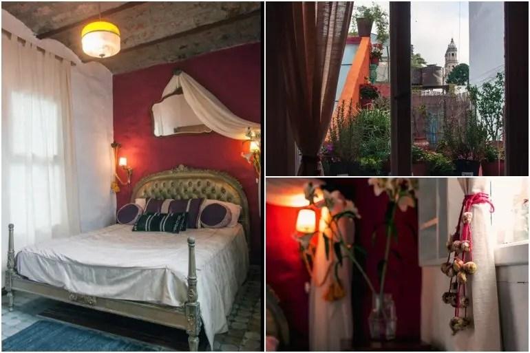 Bedroom of The Terrace of San Telmo Loft