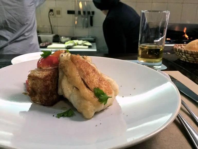 Estrecho Fish Dish