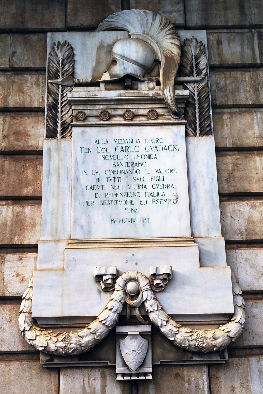 Carlo Guadagni, novello Leonida
