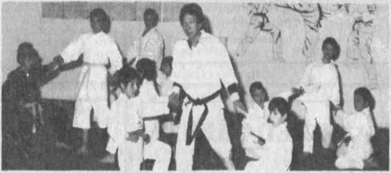 Takashi Kinoshita, maestro di karate