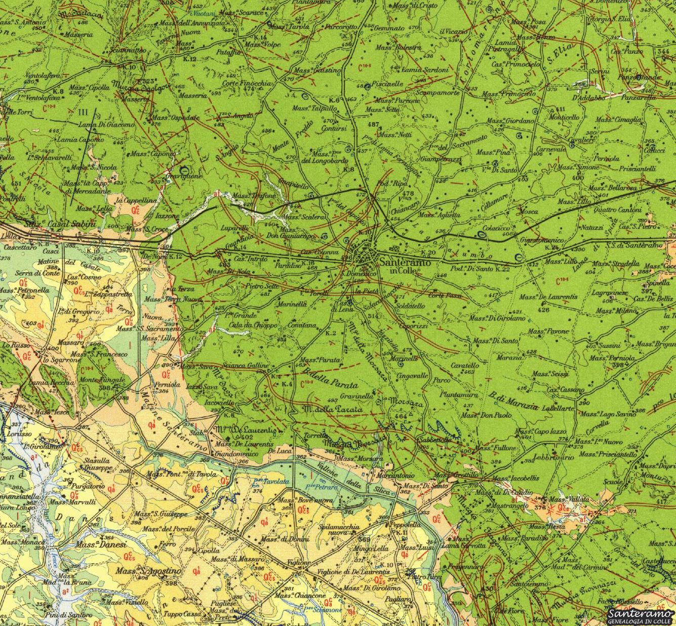 La Carta Geologica dell'ISPRA