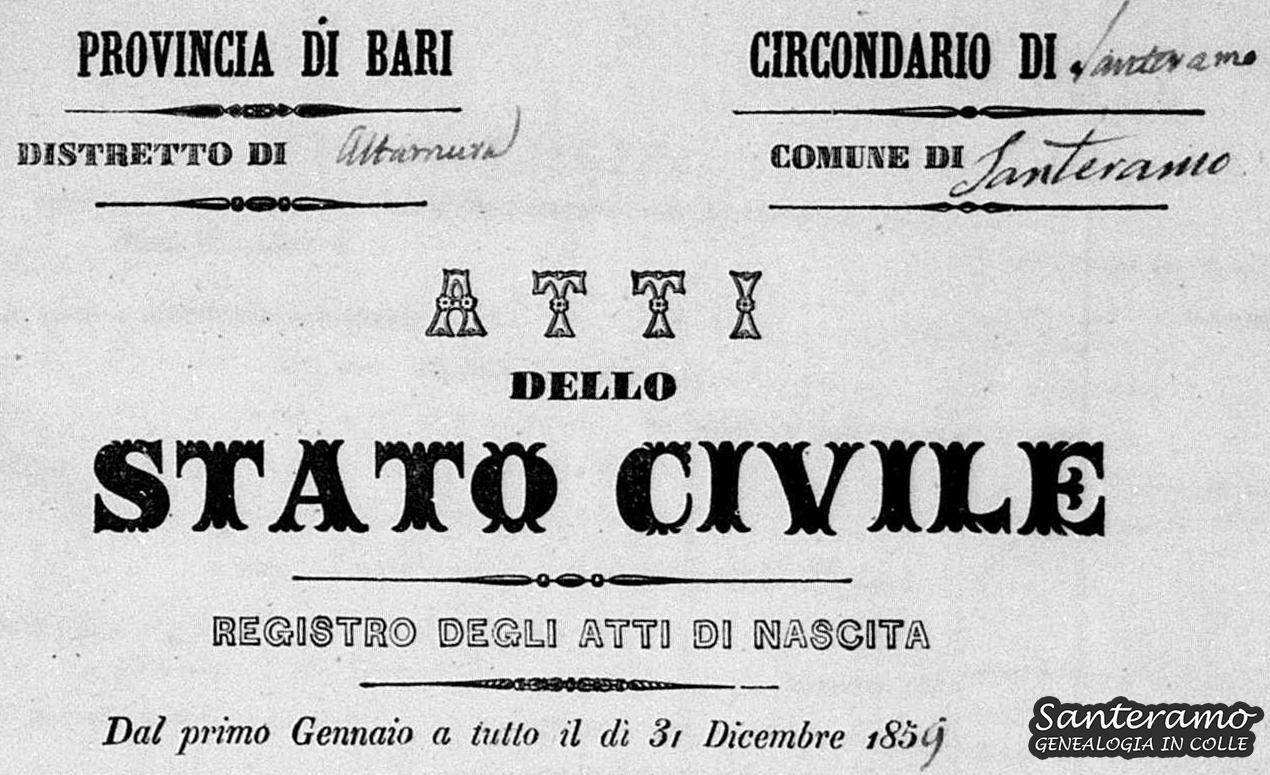 Mestieri del 1859