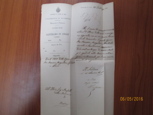 La lettera del sindaco De Laurentiis al Prefetto
