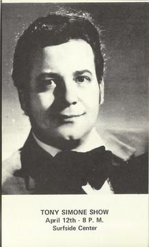 Tony Simone, il tenore molto apprezzato in America