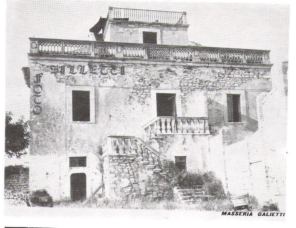 Masseria Galietti e la sua eredità per Santeramo