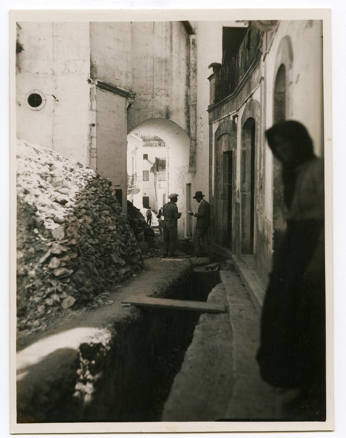 La fognatura del 1932