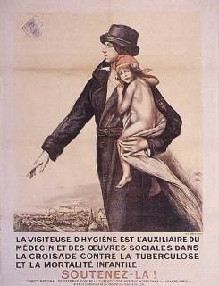 Tuberculose_1920_la_visiteuse