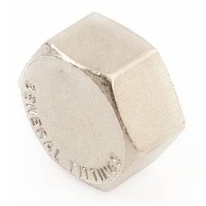 GF Заглушка 1″ крышка (никель) (10)