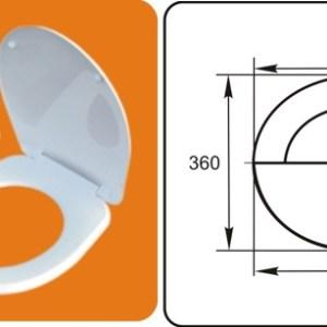 Сиденье для унитаза (белое) -СУ-66 г.Псков (12)