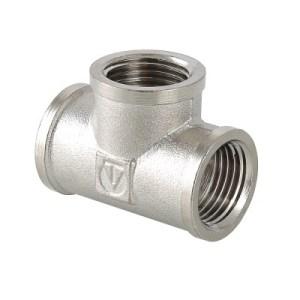 VT 130 Тройник 1/2 г/г (никель)  (10шт)
