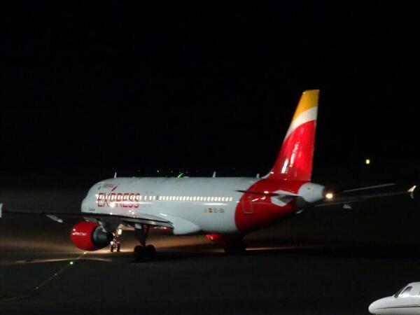 Iberia Express incorpora el gallego a sus vuelos con origen o destino a Santiago de Compostela