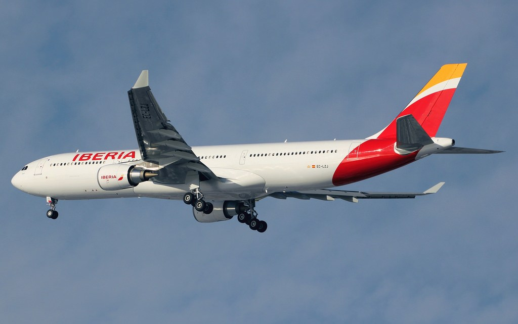 Desviado a Santiago un vuelo entre Madrid y Chicago