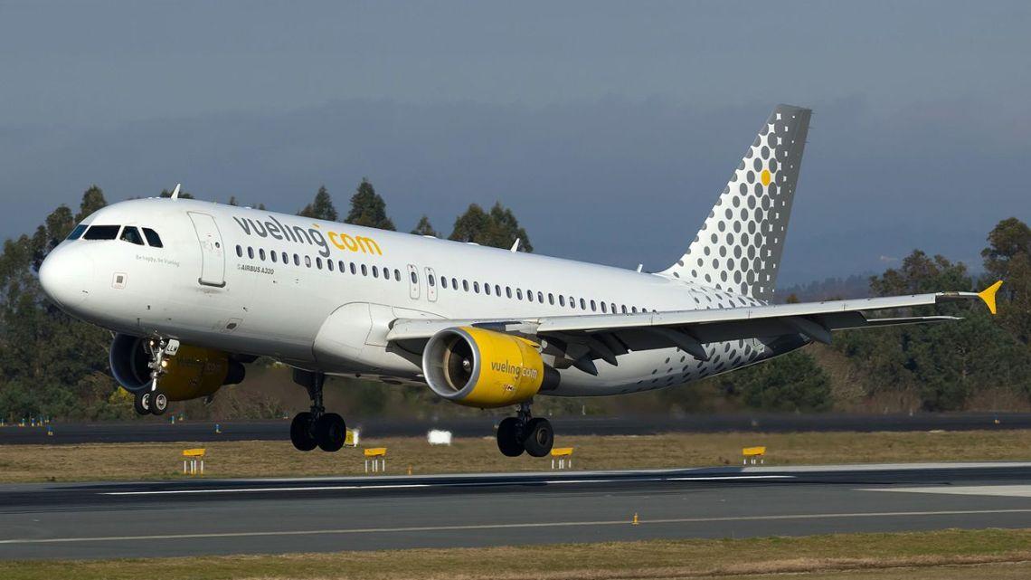 Vueling alcanza los 4.000.000 de pasajeros en Santiago