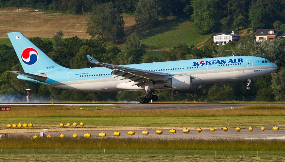 Korean Air volará a Santiago de Compostela 4 veces en noviembre