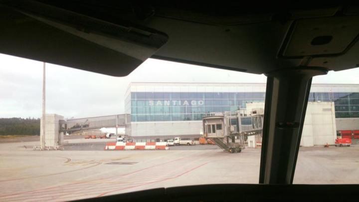 Suiza pide permiso para desembarcar en el aeropuerto de Santiago