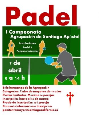 I Campoeonato de Padel Agrupacion de Santiago