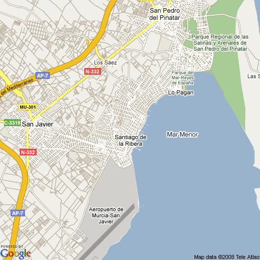 santiago-de-la-ribera-mapa