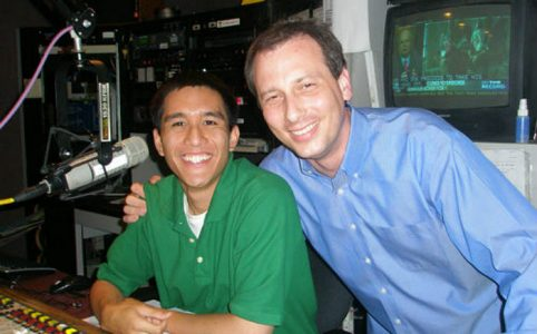 Jonathan Santiago (left) and Chris Burrous (right)