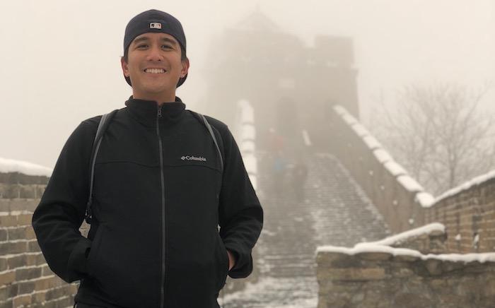Keystone Habits: Jon Santiago at the Great Wall of China