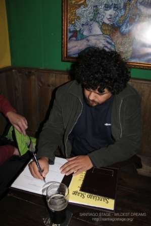 Daniel signs for donation