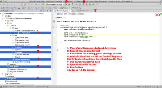 Android Studio New Main Layout First Android App Tutorial by Marcio Valenzuela Santiapps.com