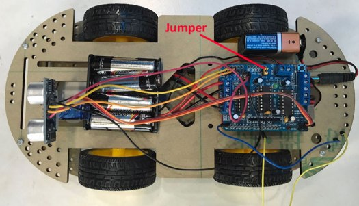Arduino (IoT): Video Serie Smart Car 4WD Kit Auto-dirigido by Santiapps Marcio Valenzuela
