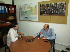 Entrevista a Alfredo Pérez Rubalcaba, para el Proyecto final de Periodismo (abril 2015)