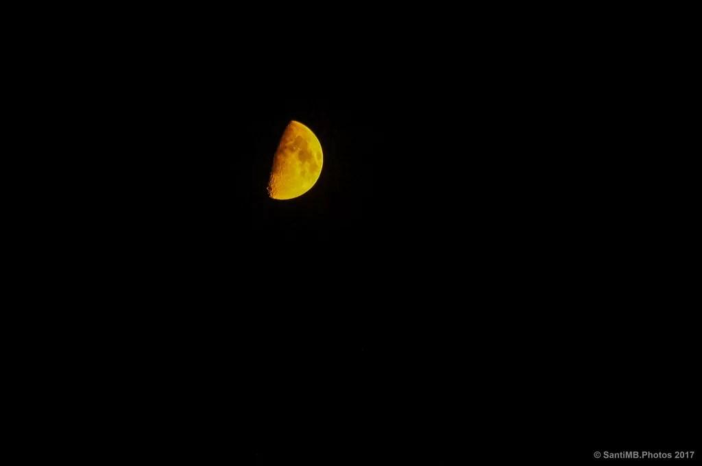 Luna ardiente