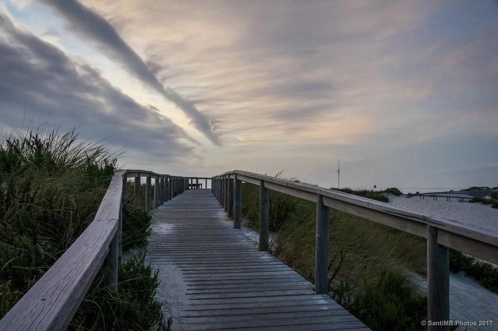 Caminando por la duna