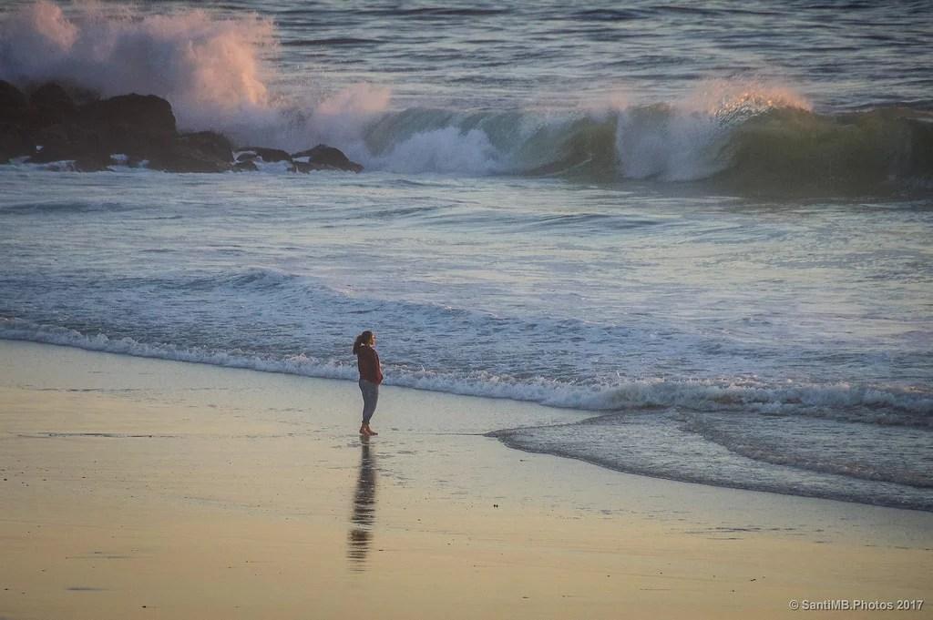 Allá donde rompen las olas