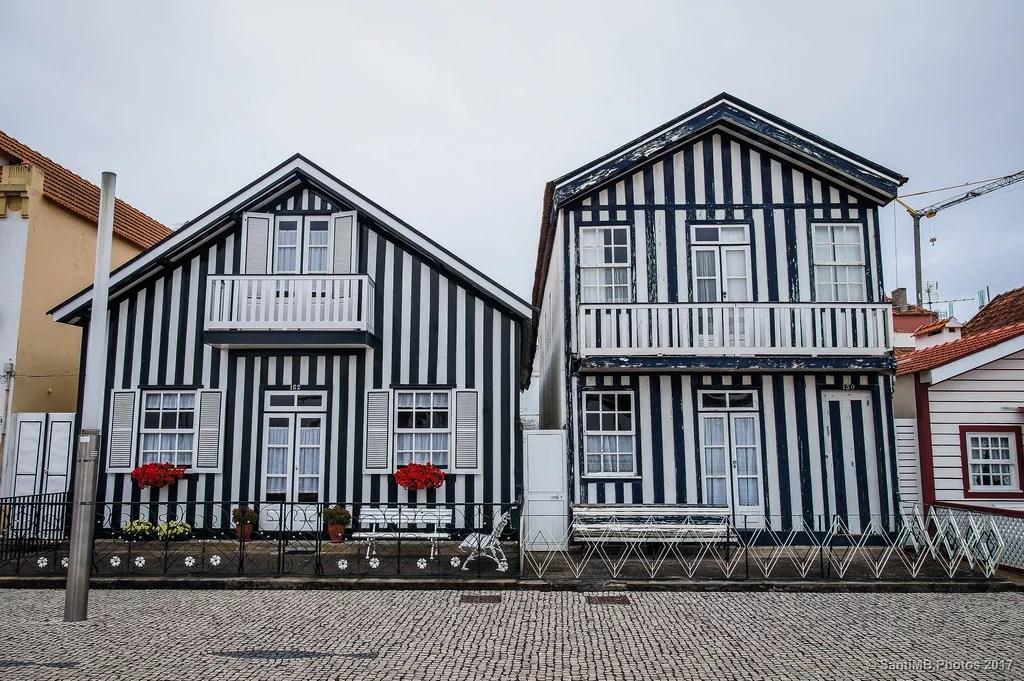 Las casas estilizadas