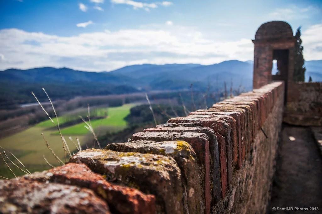 Desenfoque sobre la muralla